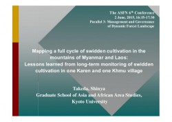 http://www.slideshare.net/CIFOR/mapping-a-full-cycle-of-swidden-cultivation-in-the-mountains-of-myanmar-and-laos