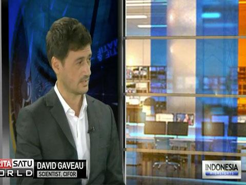 Dr. David Gaveau on Berita Satu: Discuss Riau's forest fires