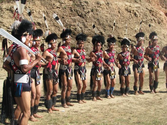 warrior dance of yimchunger men