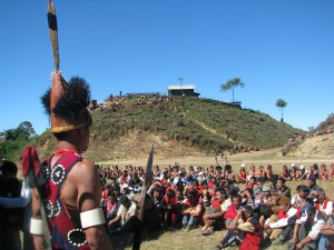 meeting of the naga tribes