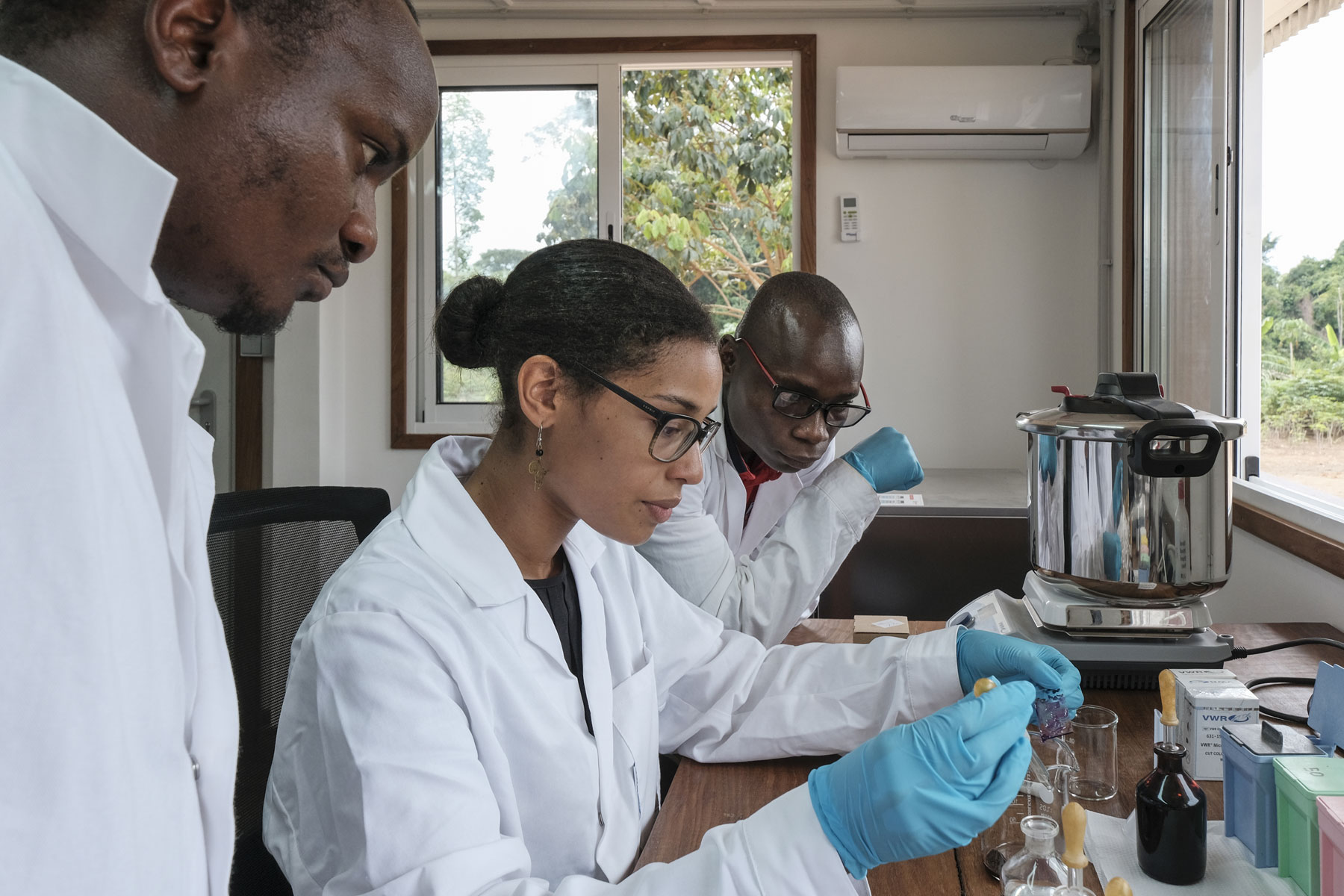 Press release<br/>Wood biology laboratory, first of its kind in Sub-Saharan Africa, opens in Democratic Republic of the Congo