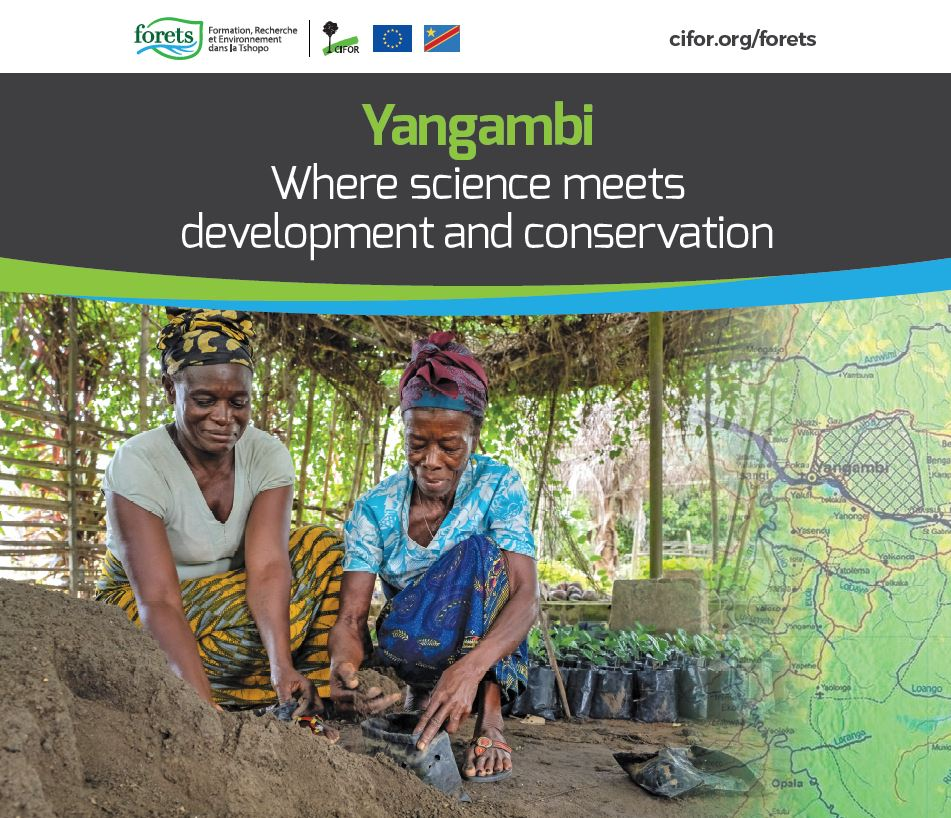 European Development Days 2019: Forest reserve in DRC becomes a climate change research and development hub, creating economic opportunities for local populations