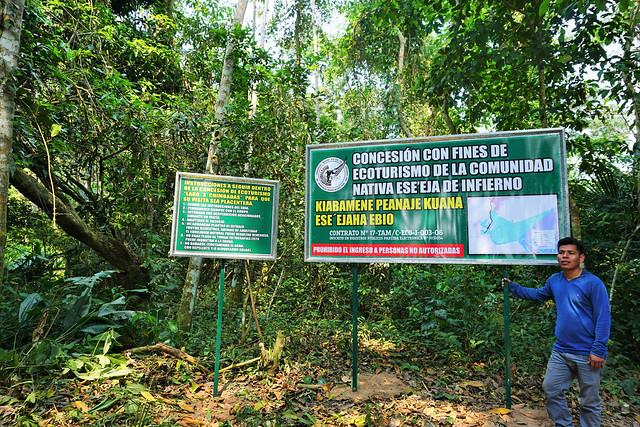 Comunidad Nativa Infierno. Foto por Yoly Gutiérrez.