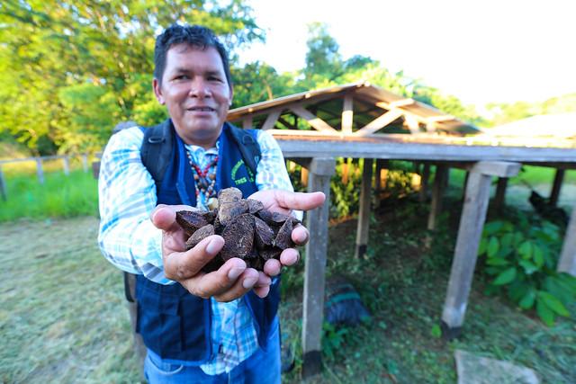 Comunidad Nativa Tres Islas. Foto por Juan Carlos Huayllapuma.