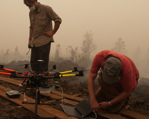 Don't inhale: Scientists look at what the Indonesian haze is made of