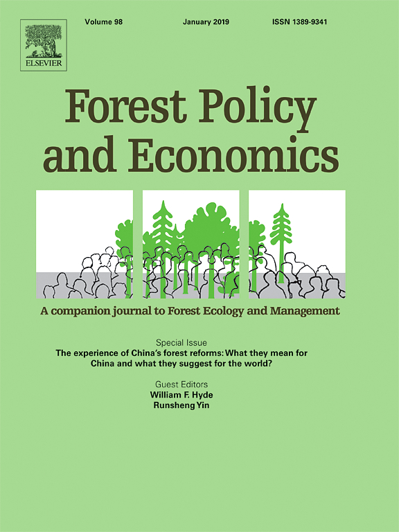 Governing knowledge transfer for deforestation monitoring: Insights from REDD+ projects in the Congo Basin region