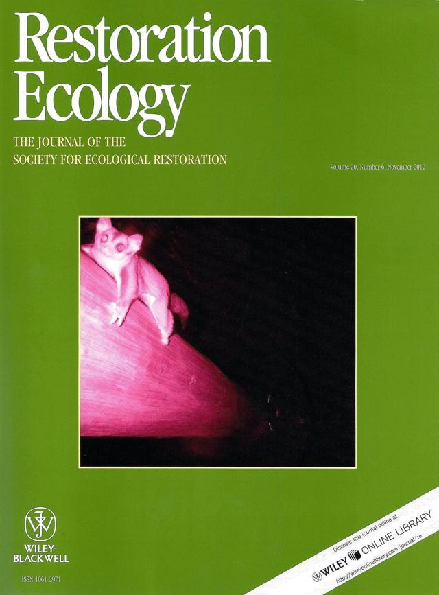 International principles and standards for the practice of ecological restoration: Second edition