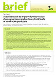 Synthesis: Action research to improve furniture value chain governance and enhance livelihoods of small-scale producers