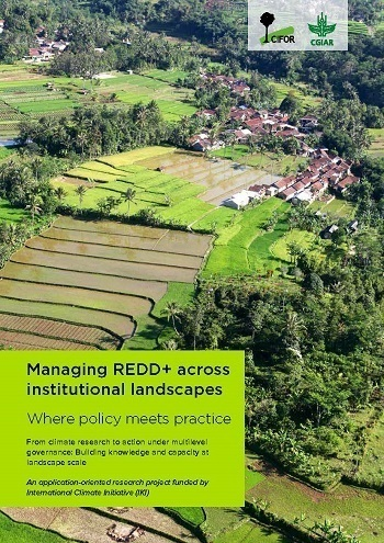 Managing REDD+ across institutional landscapes: Where policy meets practice