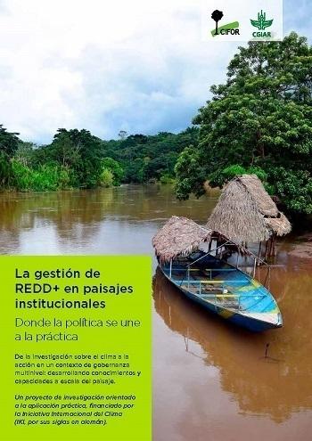 La gestión de REDD+ en paisajes institucionales: Donde la política se une a la práctica