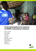 Technical guidelines for research on REDD+ subnational initiatives