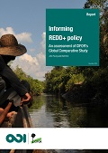 Informing REDD+ policy: an assessment of CIFOR's Global Comparative Study