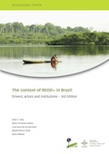 The context of REDD+ in Brazil: drivers, agents, and institutions - 3rd edition