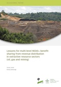 Lessons for multi-level REDD+ benefit-sharing from revenue distribution in extractive resource sectors (oil, gas and mining)