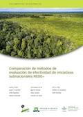 Comparación de métodos de evaluación de efectividad de iniciativas subnacionales REDD+