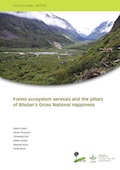 Forest ecosystem services and the pillars of Bhutan's Gross National Happiness
