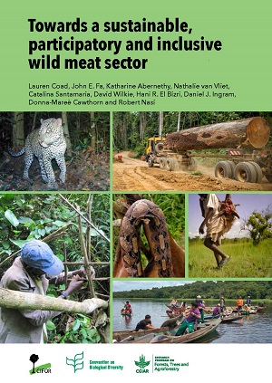 Towards a sustainable, participatory and inclusive wild meat sector