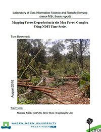 Monitoring 40 years land use change in Mau forest