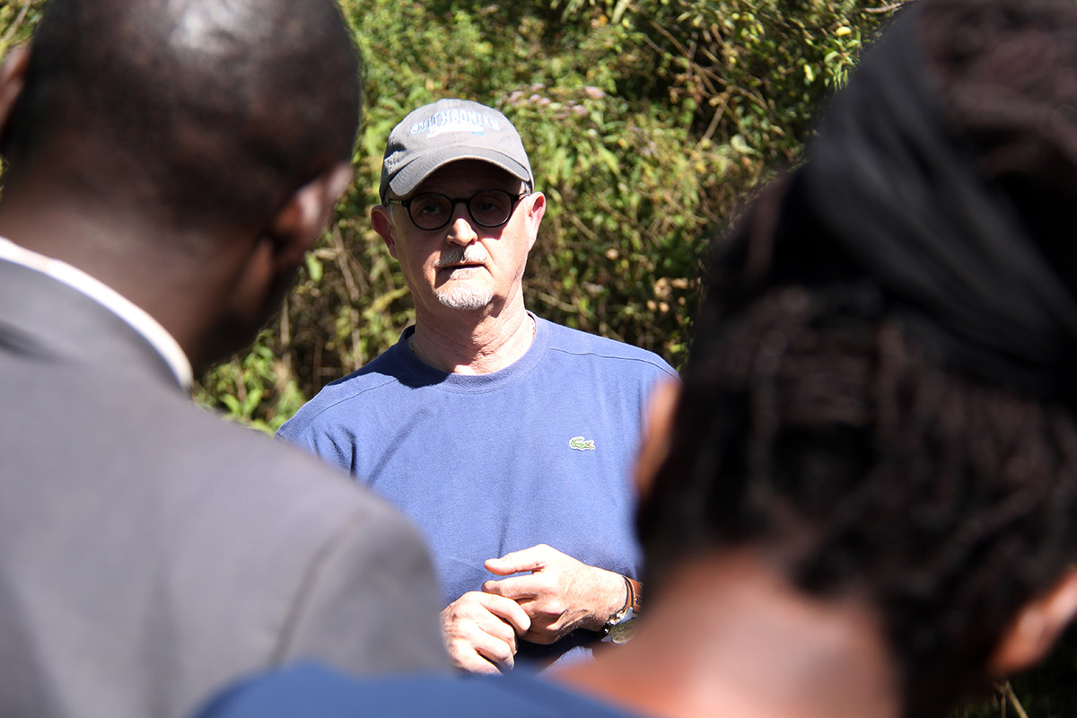 CIFOR Director General's visit to Water towers project sites in Kenya