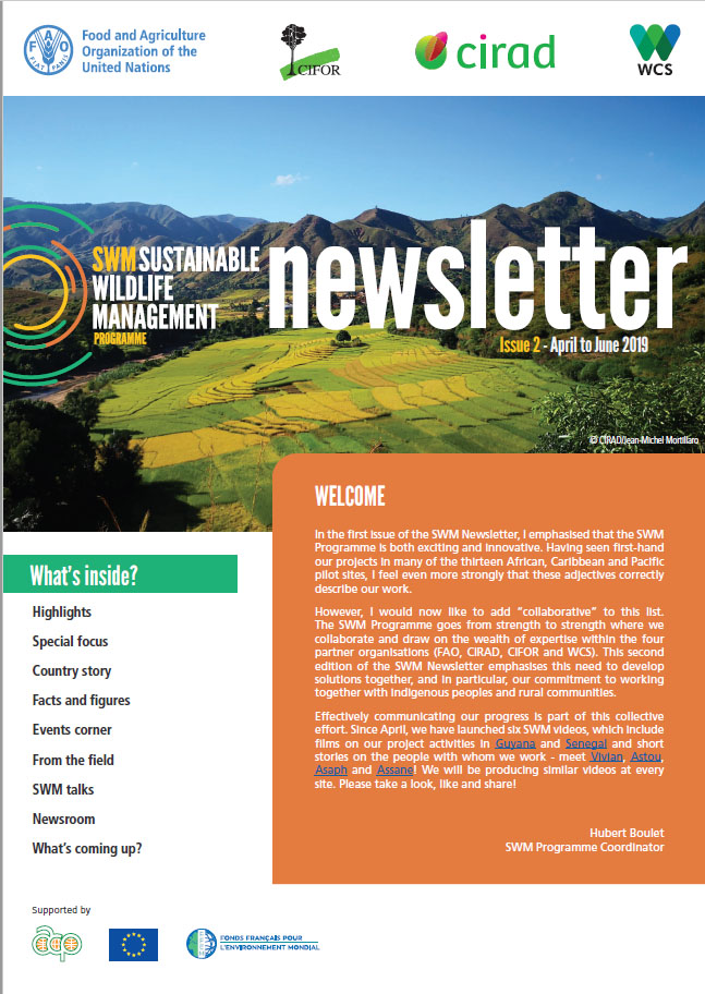 SWM Newsletter Issue 2. April to June 2019